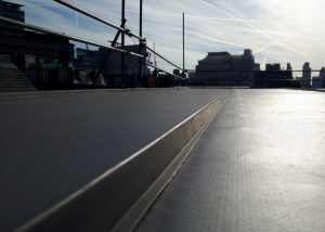 Kingsley Roofing Southern completed this standing seam roof on a building in Fleet Street, London